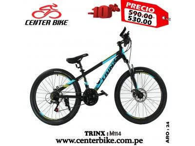 BICICLETA NIÑOS TRINX M114