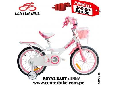 BICICLETA NIÑOS ROYAL BABY...